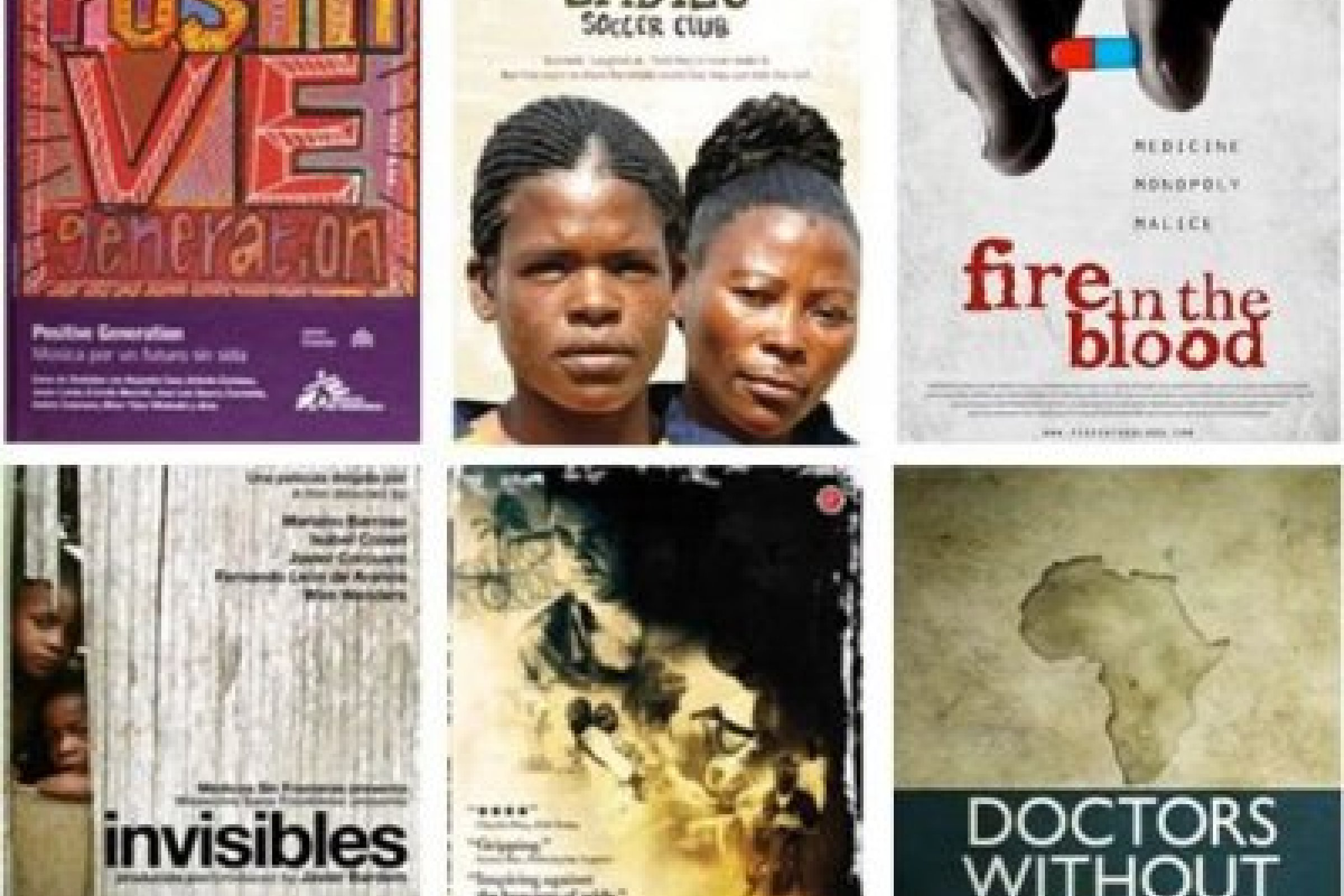 Some of the incredible films about MSF we can send you